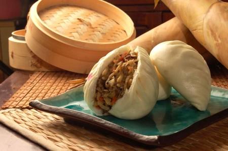 素菜包(竹筍)